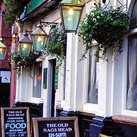 Manchester Pubs - The Old Nag's Head