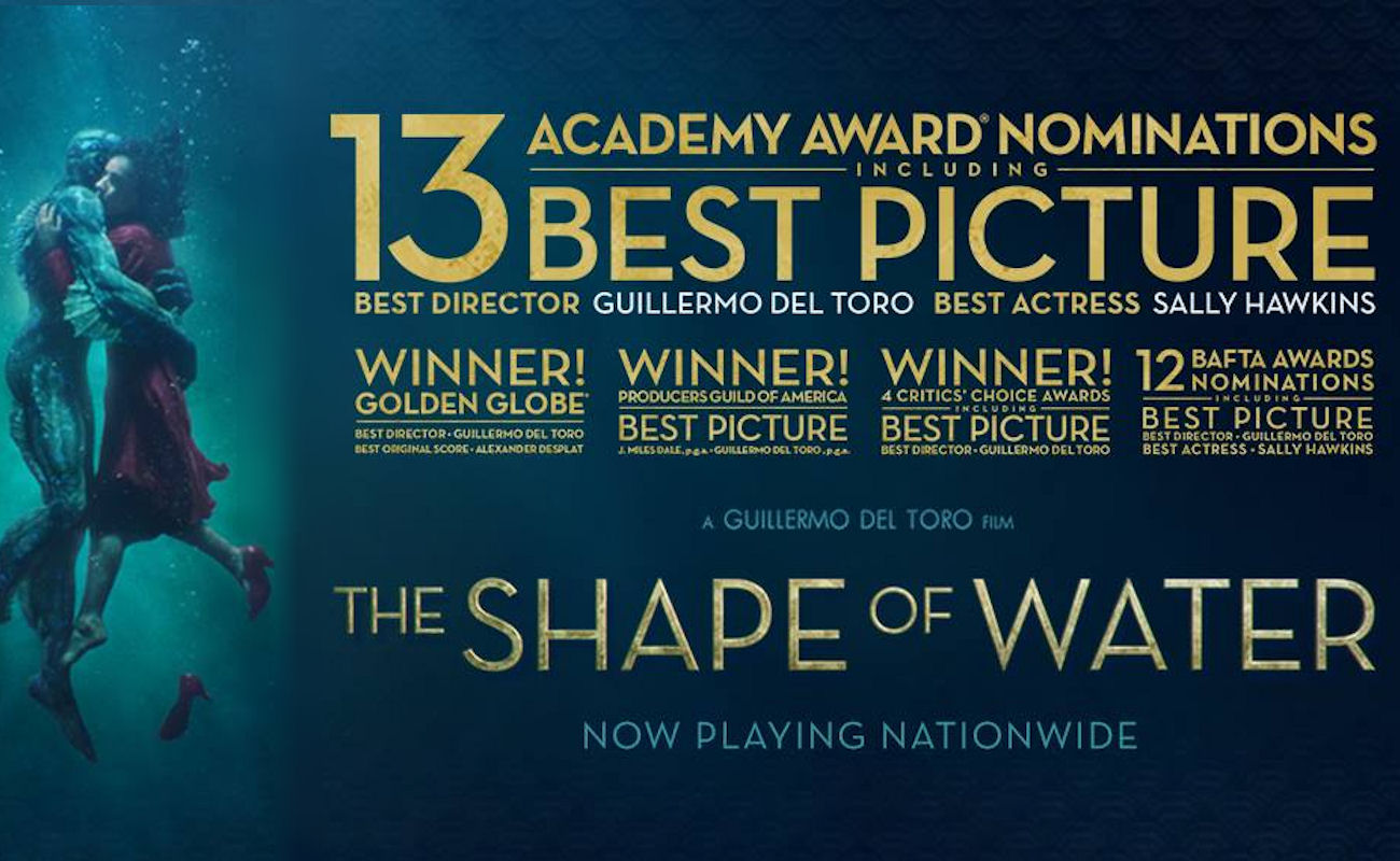 The Shape Of Water in Manchester cinemas