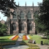 The Beautiful Chester Cathedral Building & Gardens