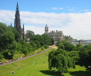 Edinburgh Hotels - Princes Street Gardens
