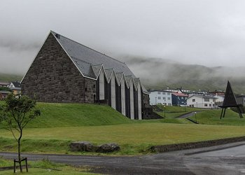 The church in Klaksvik