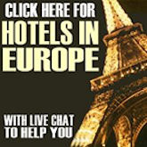 Click Here For Hotels in Europe