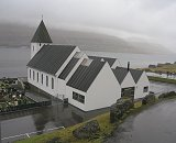 the church in Runavik