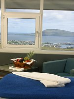 Hotel Foroyar - Room and view over Torshavn