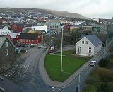 View of Torshavn from Hotel Hafnia