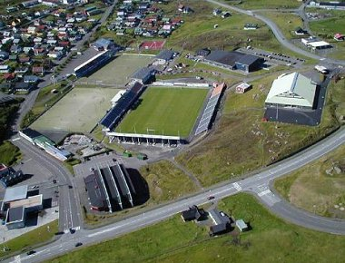 View Of Torsvollur Stadium