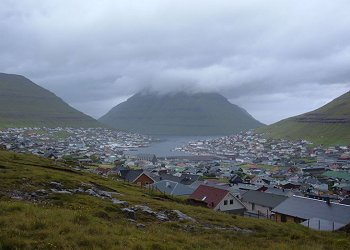 View of Klaksvik
