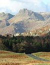 A typical view of Langdale Valley