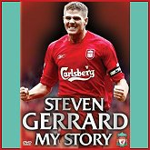 Released in November 2005, buy the new Steven Gerrard DVD