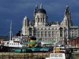 Liverpool Hotels - Manchester Dock and Liver Building