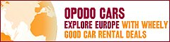 car hire in Montreux from Opodo