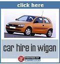 Car hire in Wigan