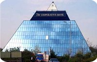 Stockport Hotels - The Co-operative Bank's Pyramid buidling in Stockport