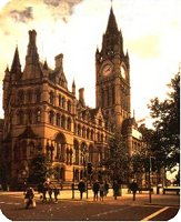 Manchester Town Hall - possibly the finest building in the city