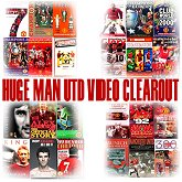 click here to view our huge Manchester United video clearout