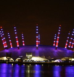 O2 Arena, Greenwich, London