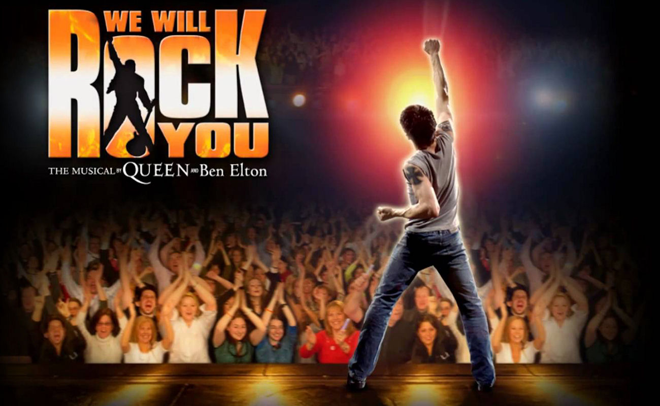 We Will Rock You in Manchester