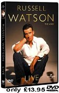 Russell Watson - live in New Zealand - only £13.95 region 2 DVD