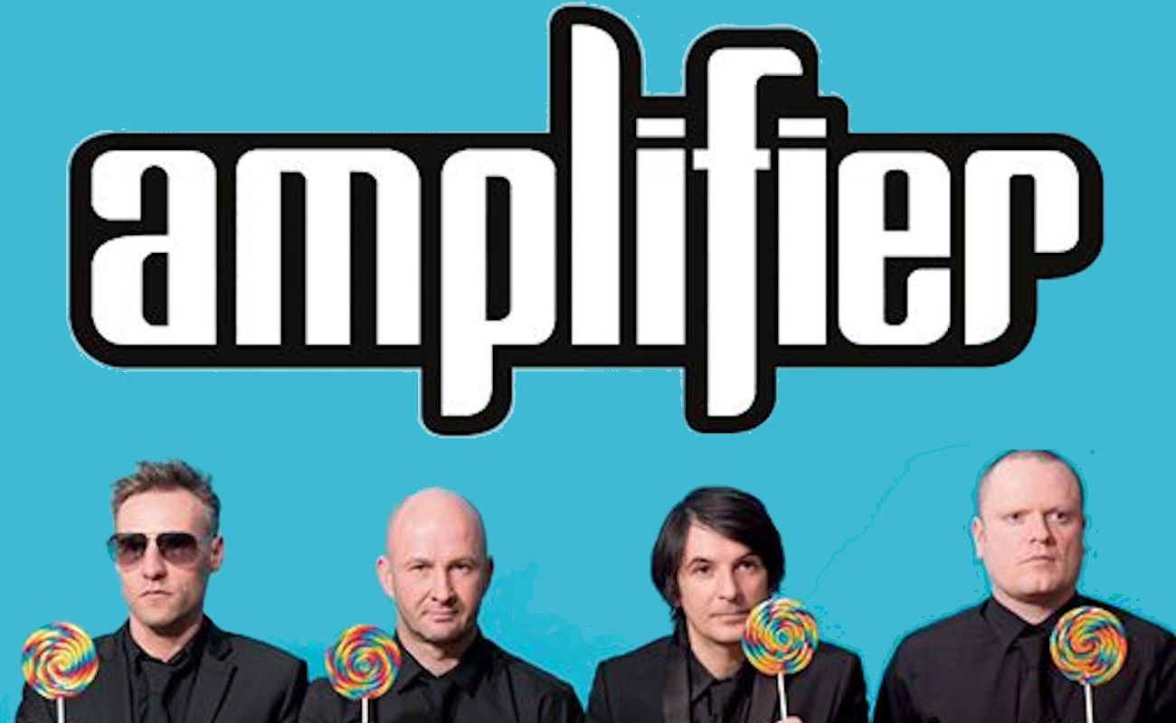 Amplifier live in Manchester