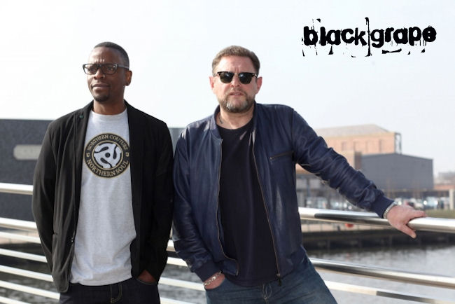 Black Grape live in  Manchester