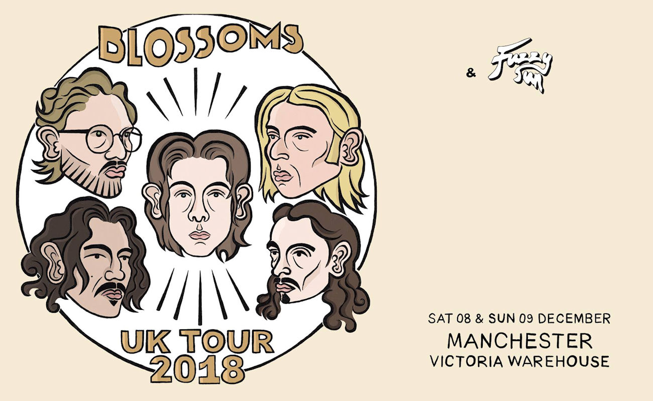 Blossoms live in  Manchester