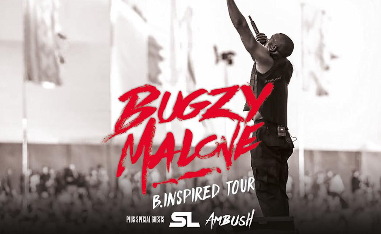 Bugzy Malone live in  Manchester