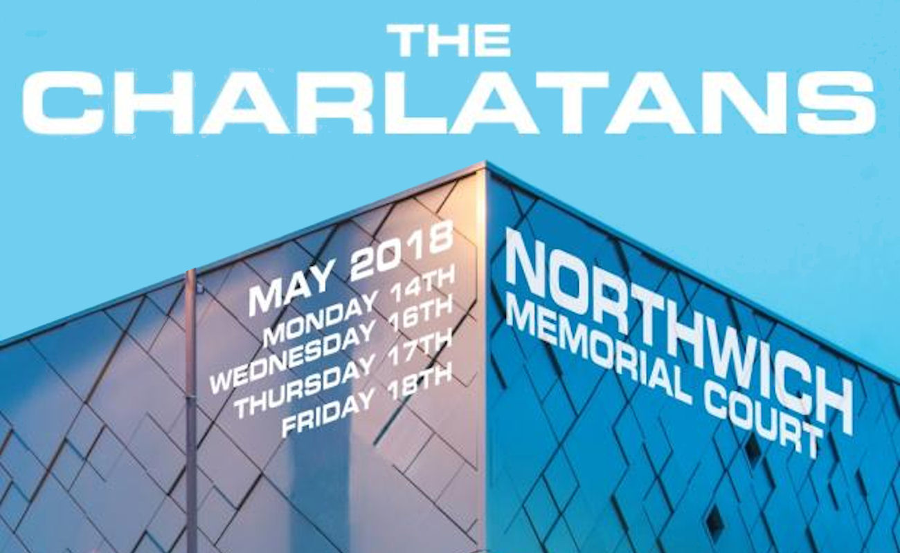 The Charlatans live in Northwich