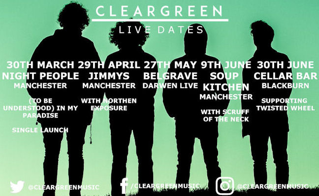 Cleargreen live in  Manchester