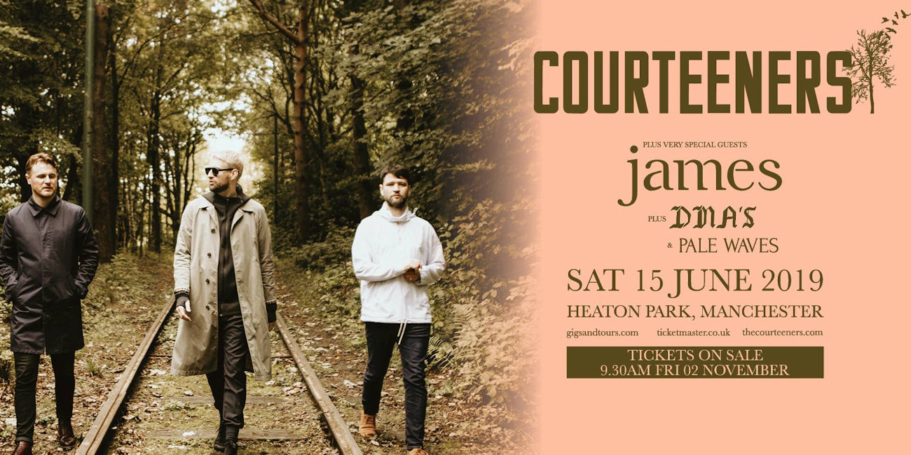 James & The Courteeners live in Manchester