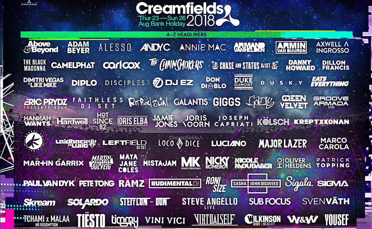 Creamfields Festival Warrington