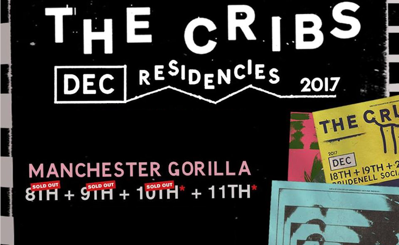 The Cribs live Manchester