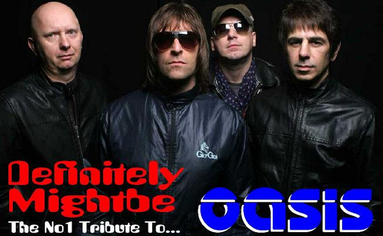 Oasis Tribute live in  Manchester