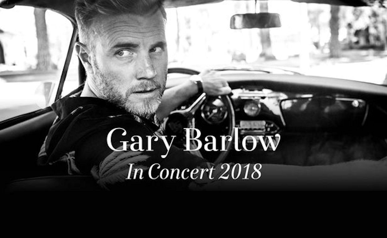 Gary Barlow in Manchester
