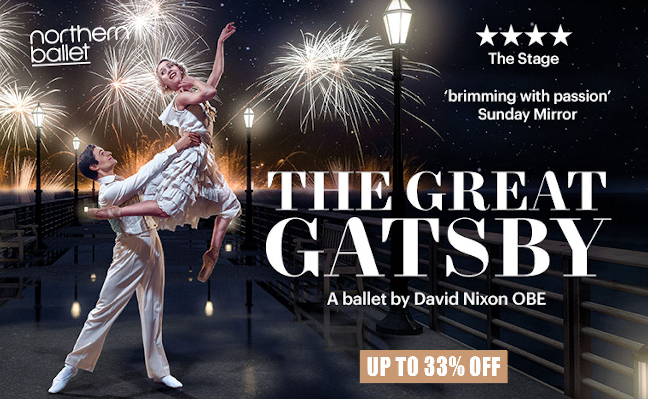 Ticket Offers in Manchester - 33% Off Great Gatsby