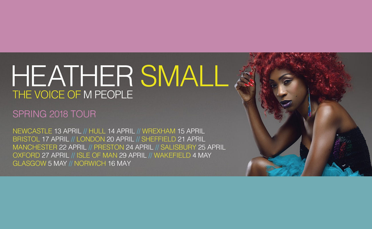 Heather Small live Manchester