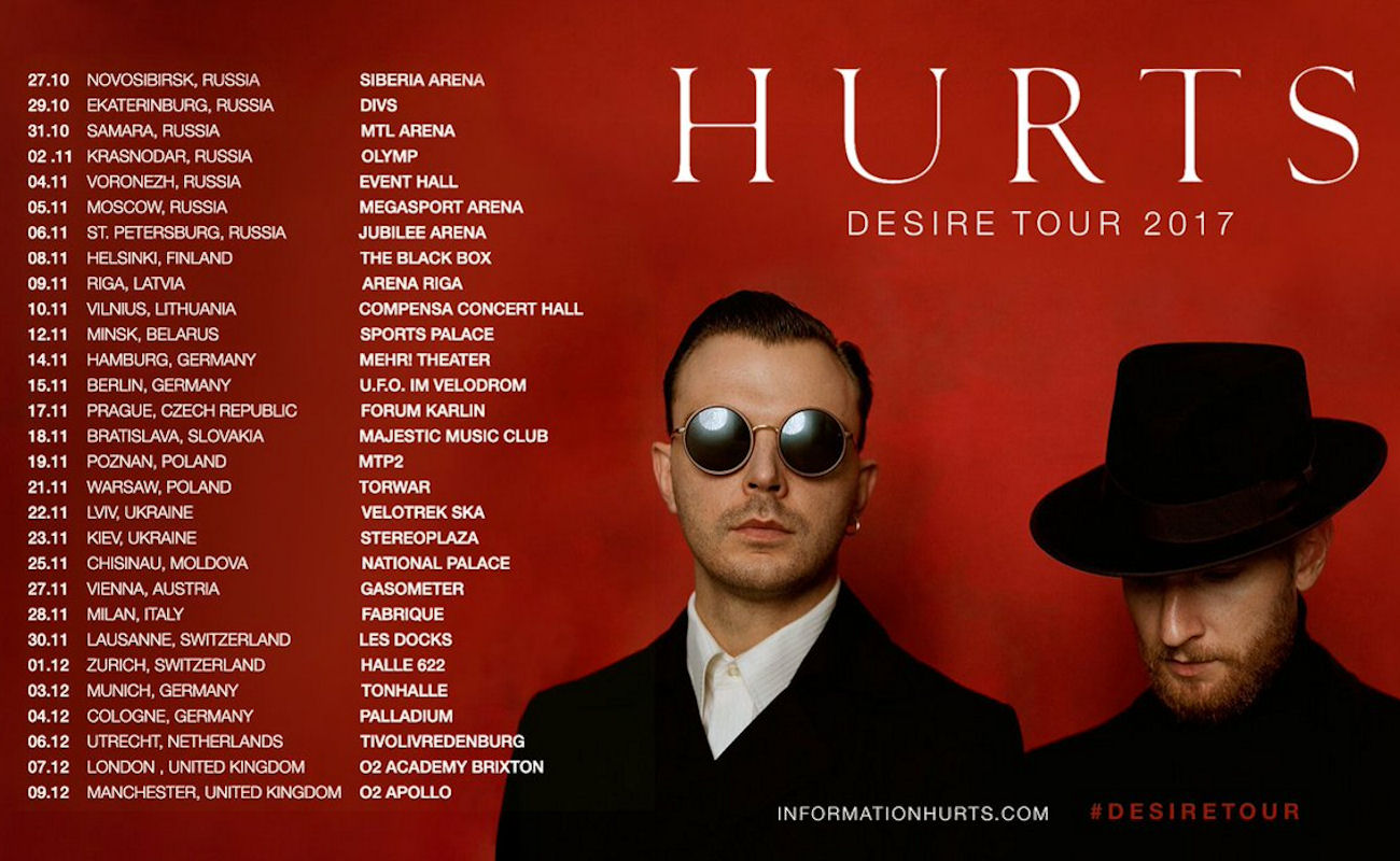 Hurts in Manchester