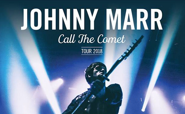 Johnny Marr live in  Manchester