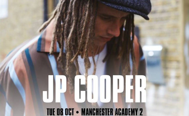 JP Cooper in Manchester
