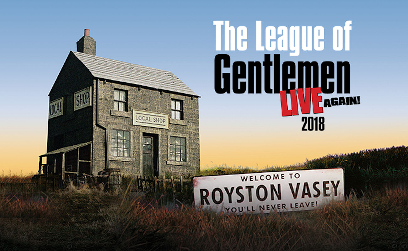 The League Of Gentlemen in Manchester