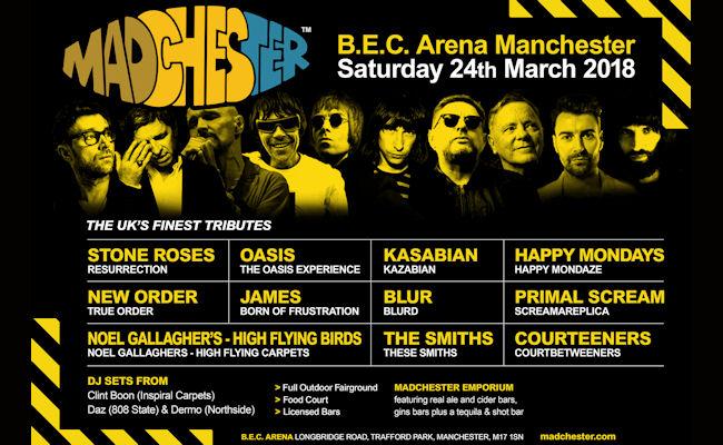 Madchester Tribute Festival Manchester