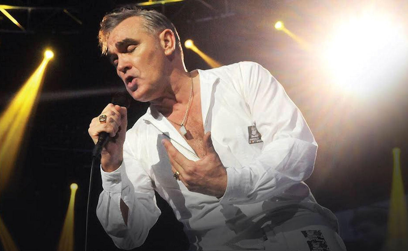 Pride Of Manchester - Morrissey live in Manchester