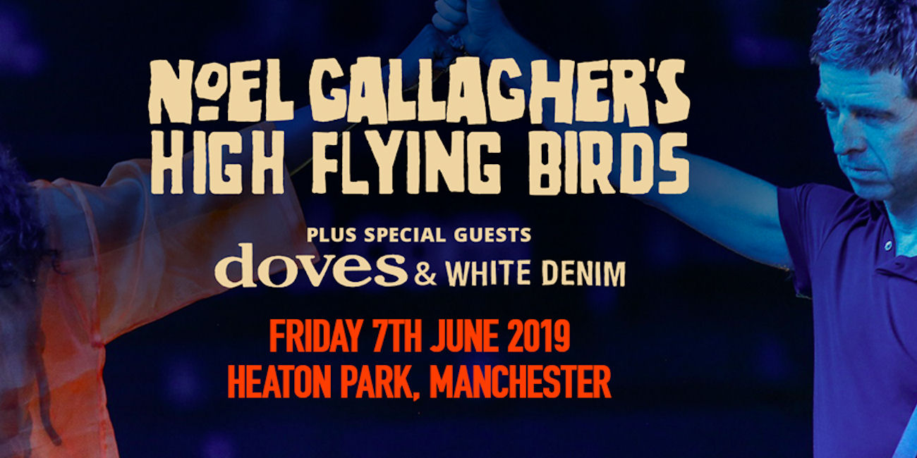 Noel Gallagher & Doves live in Manchester
