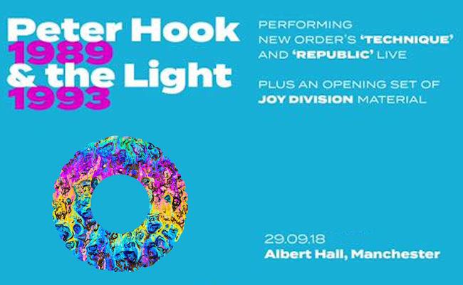 Peter Hook live Manchester