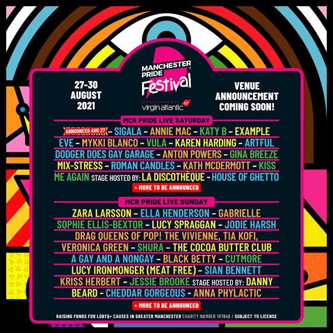 Manchester Pride 2021