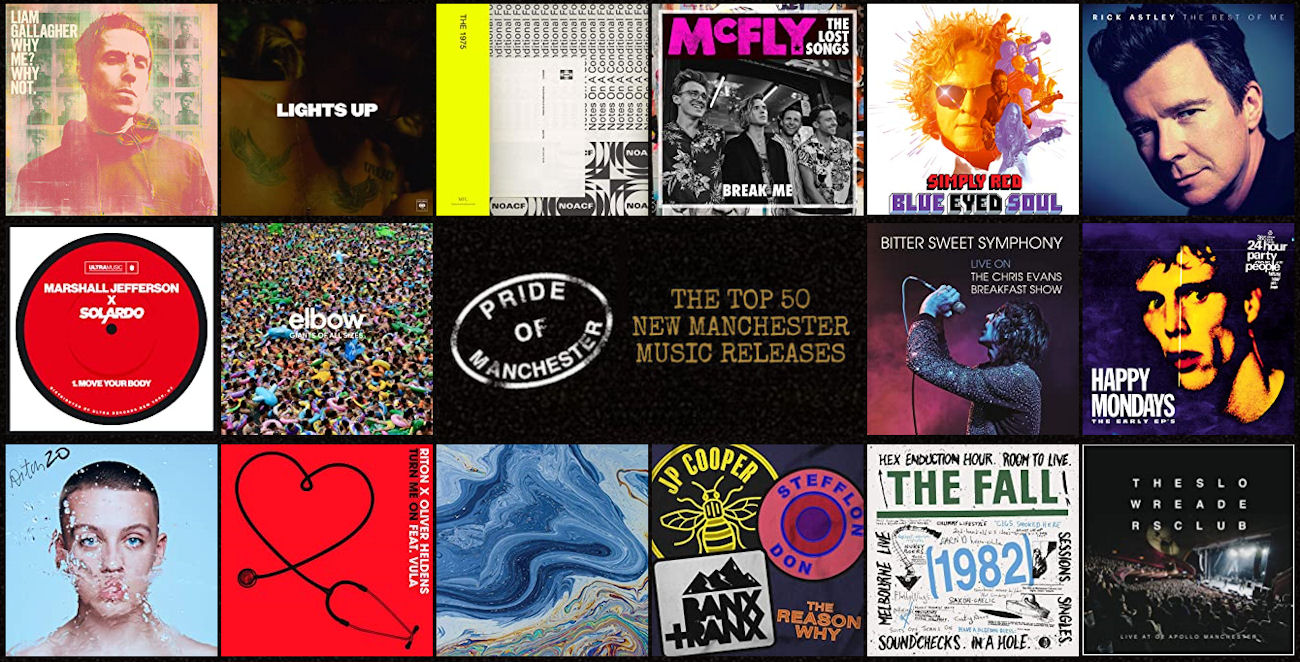 New Manchester Music Top 50