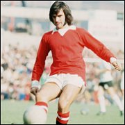 Classic 1970's manchester United george best retro shirt