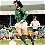 Classic 1970's northern ireland george best retro shirt