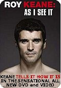 Roy Keane - As I See It - DVD and Video out now
