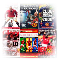 Manchester United Finals and Magic Matches on dvd