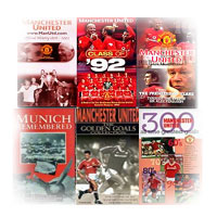 Manchester United History and Goals on dvd and video